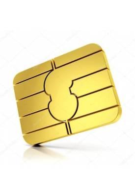 602 07 08 09 VIP zlaté číslo